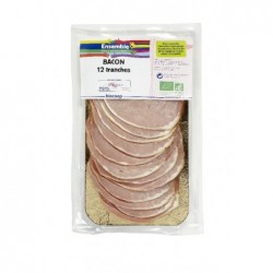Bacon tranches (12) 150g