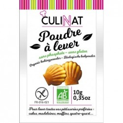 POUDRE A LEVER 8X10G SS GLUTEN