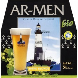Biere blonde AR-MEN 25cl